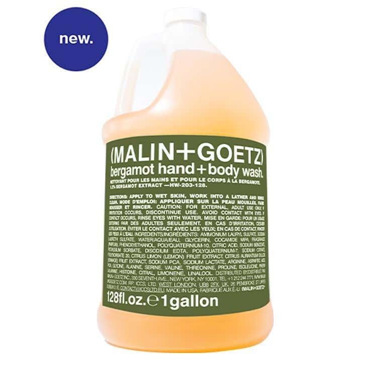 bergamot hand+body wash refill
