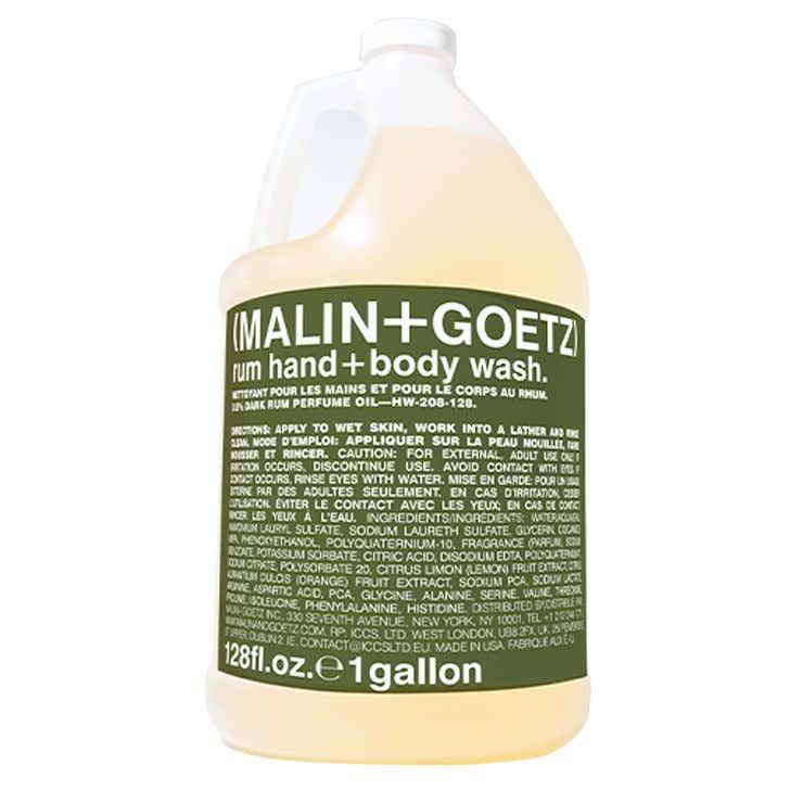 rum hand+body wash refill gallon