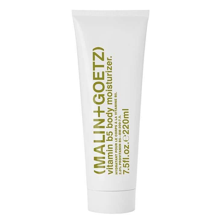 vitamin b5 body moisturizer (on us).