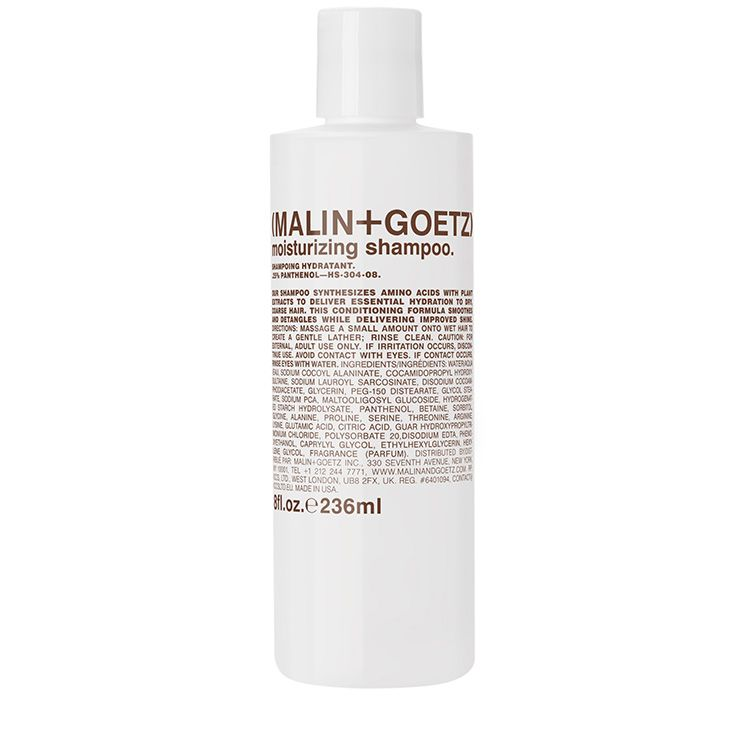 moisturizing shampoo.