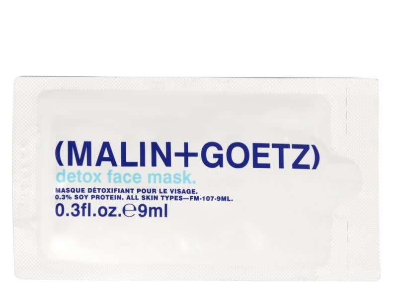 detox face mask sample.