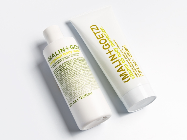 Malin + Goetz two step body essentials