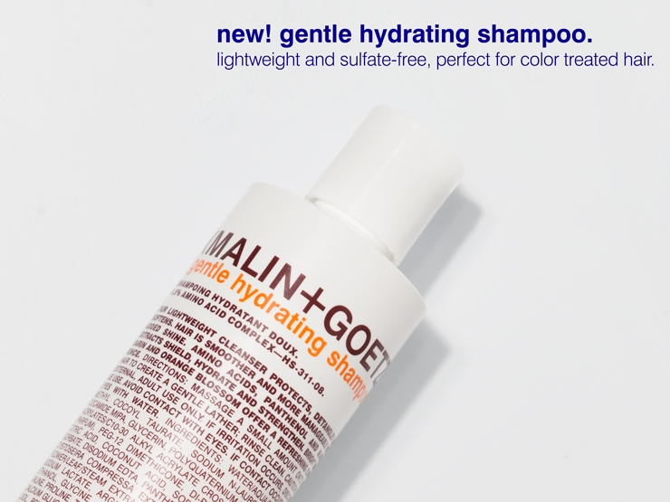 Gentle Hydrating Shampoo.