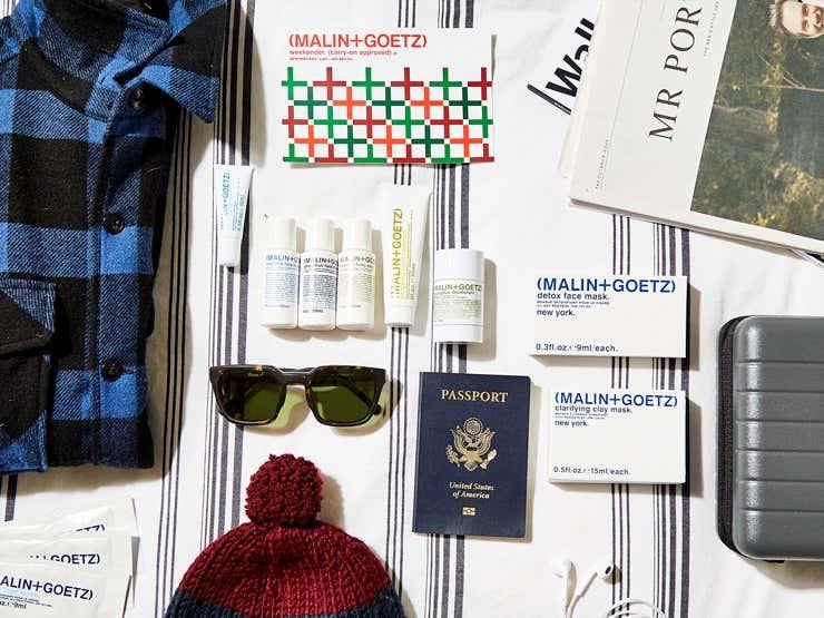 Malin + Goetz winter travel products