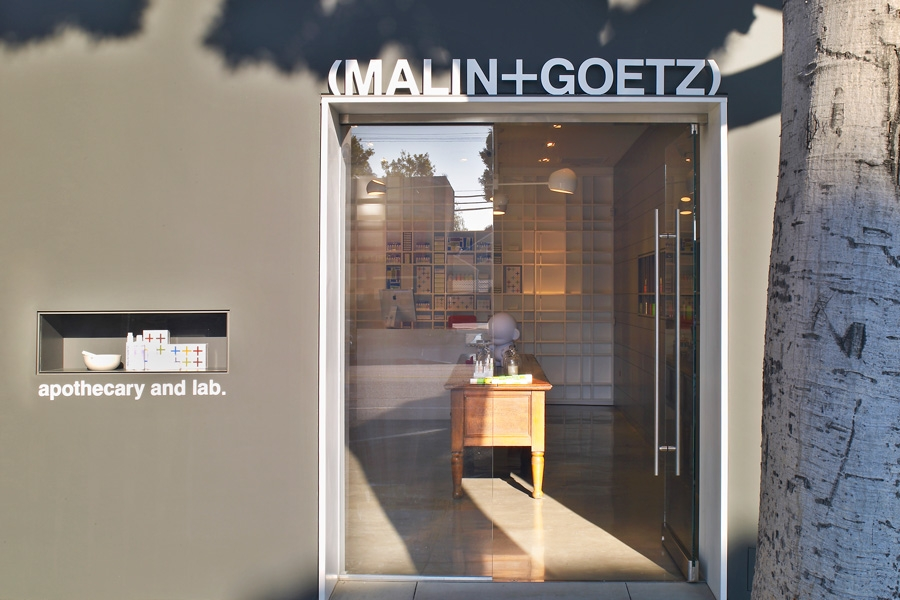 Exterior Los Angeles Malin and Goetz Store