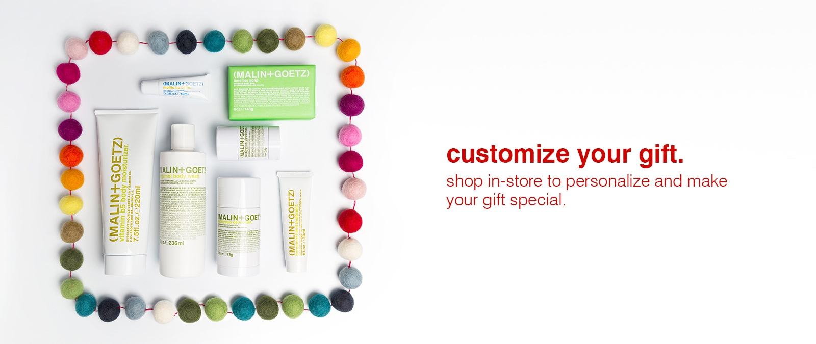 customize your gift.